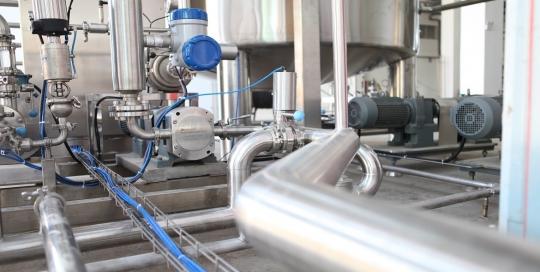 حمل و ترخیص تجهیزات خط تولید